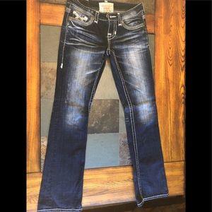 Big Star 'Liv' slim boot cut jeans